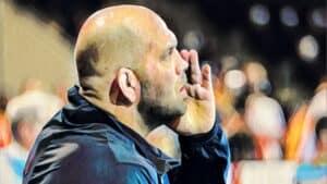 Coach Matt Lindland