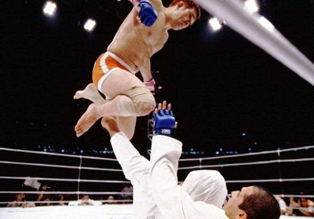 Kazushi Sakuraba vs Royce Gracie