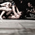 Gogoplata Submission in MMA from Rubber Guard