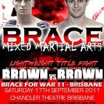 Sonny Brown Image - Fight Poster 2